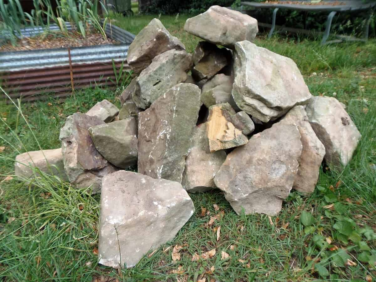 Pile of Landscaping Rocks