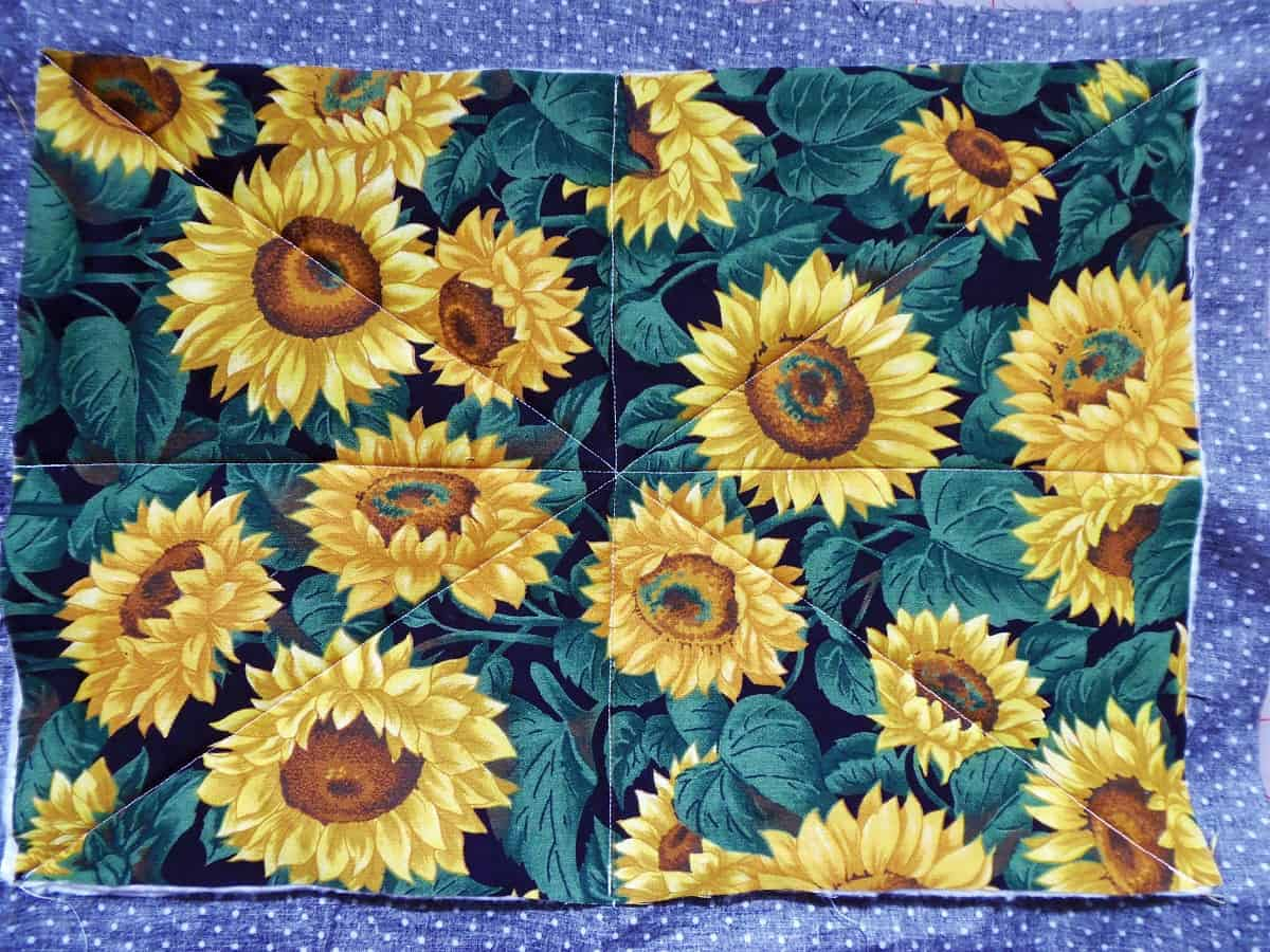 Quilted Casserole Hot Pad