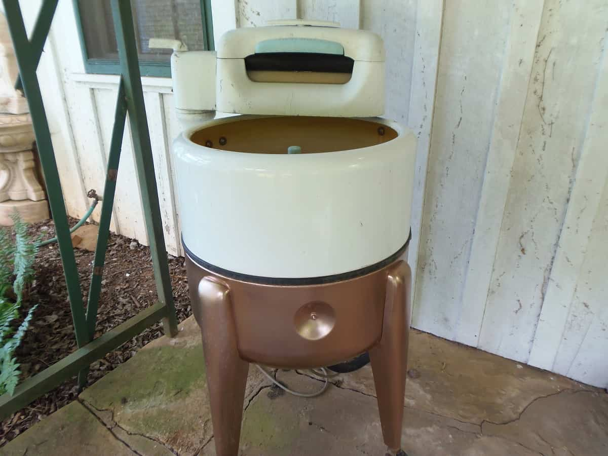 Repainted Wringer Washer