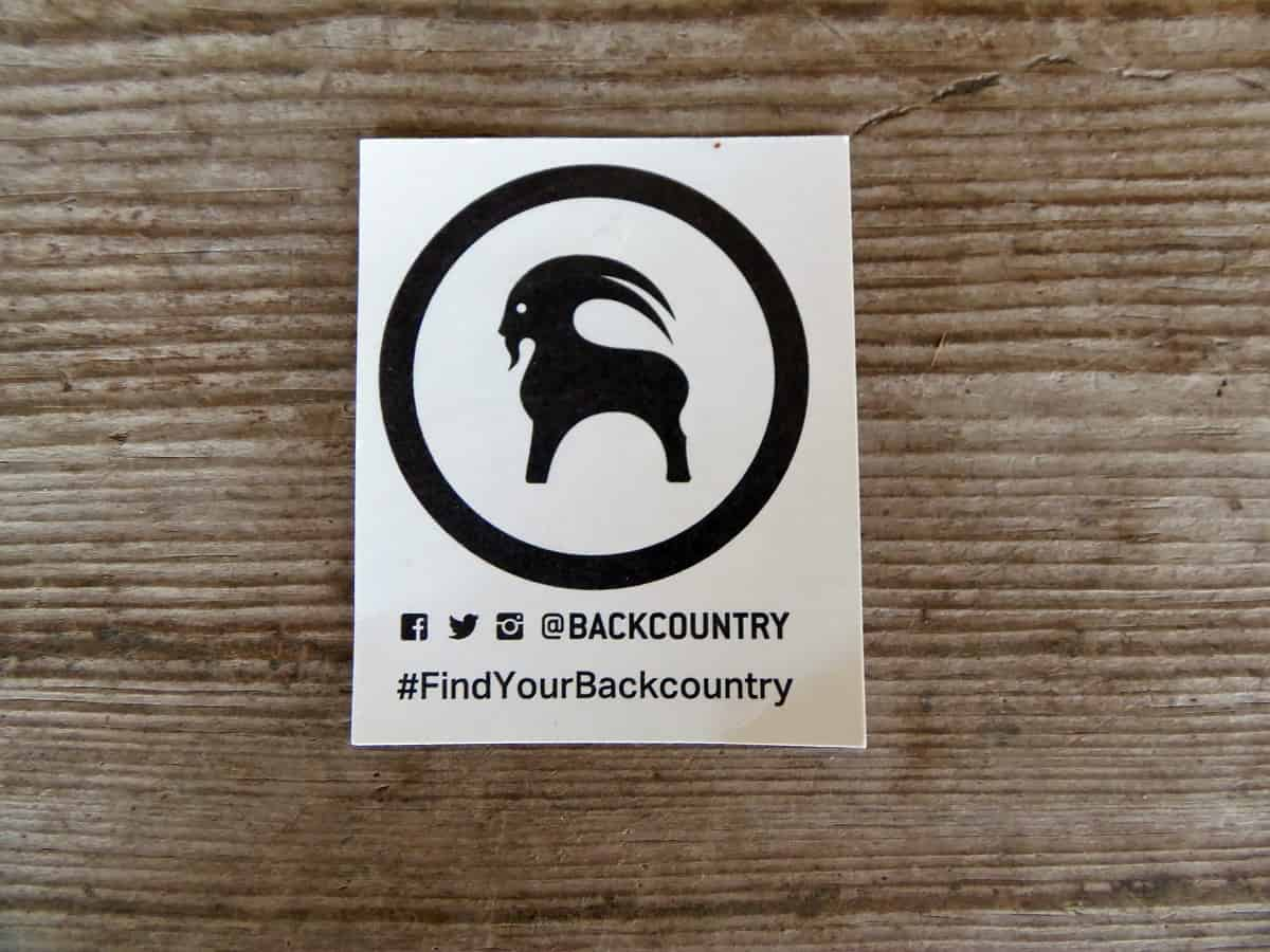 Free Backcountry Sticker