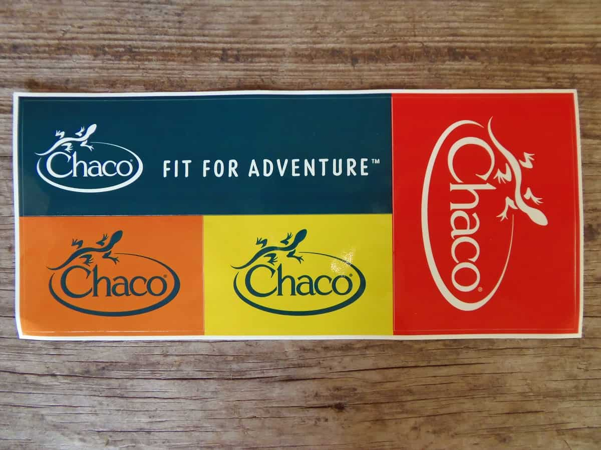 Free Stickers From Chaco