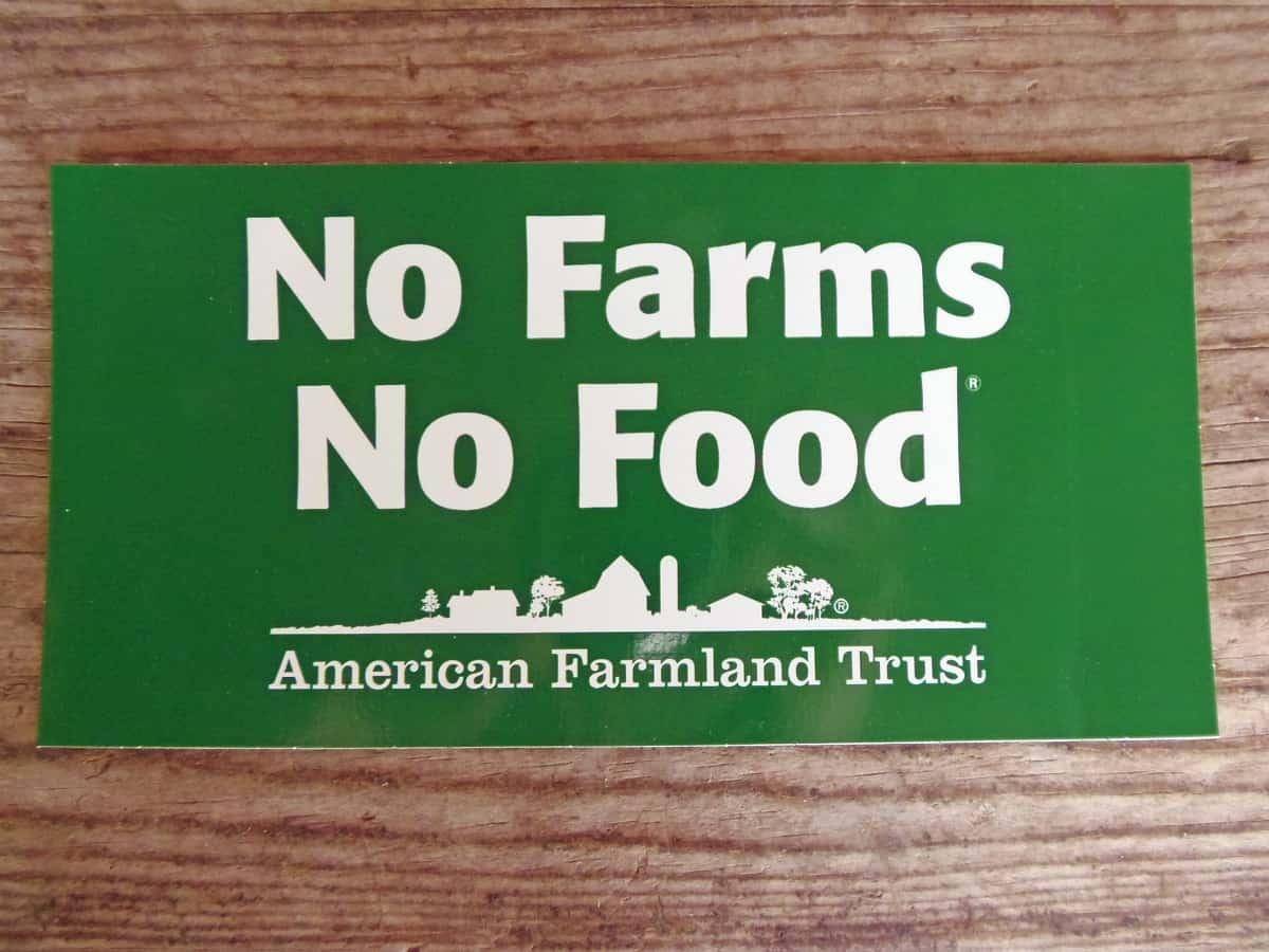 Free Sticker From American Farmland Trust