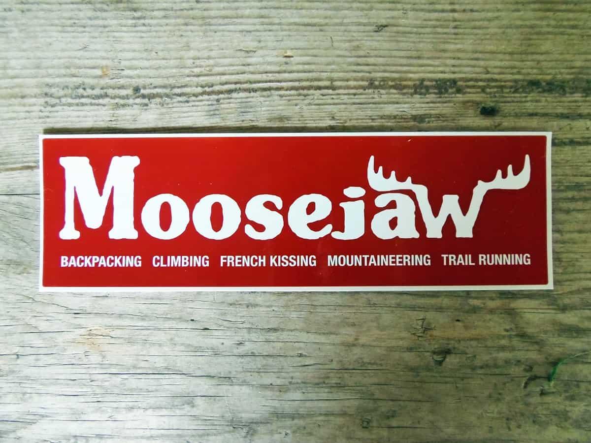 Free Sticker From Moosejaw