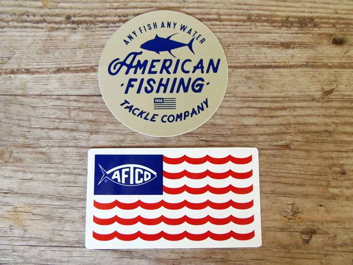 Free Stickers from American Fishing Tackle Company
