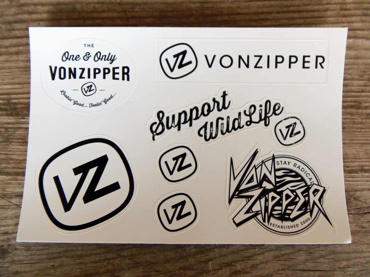 Free Vonzipper Stickers