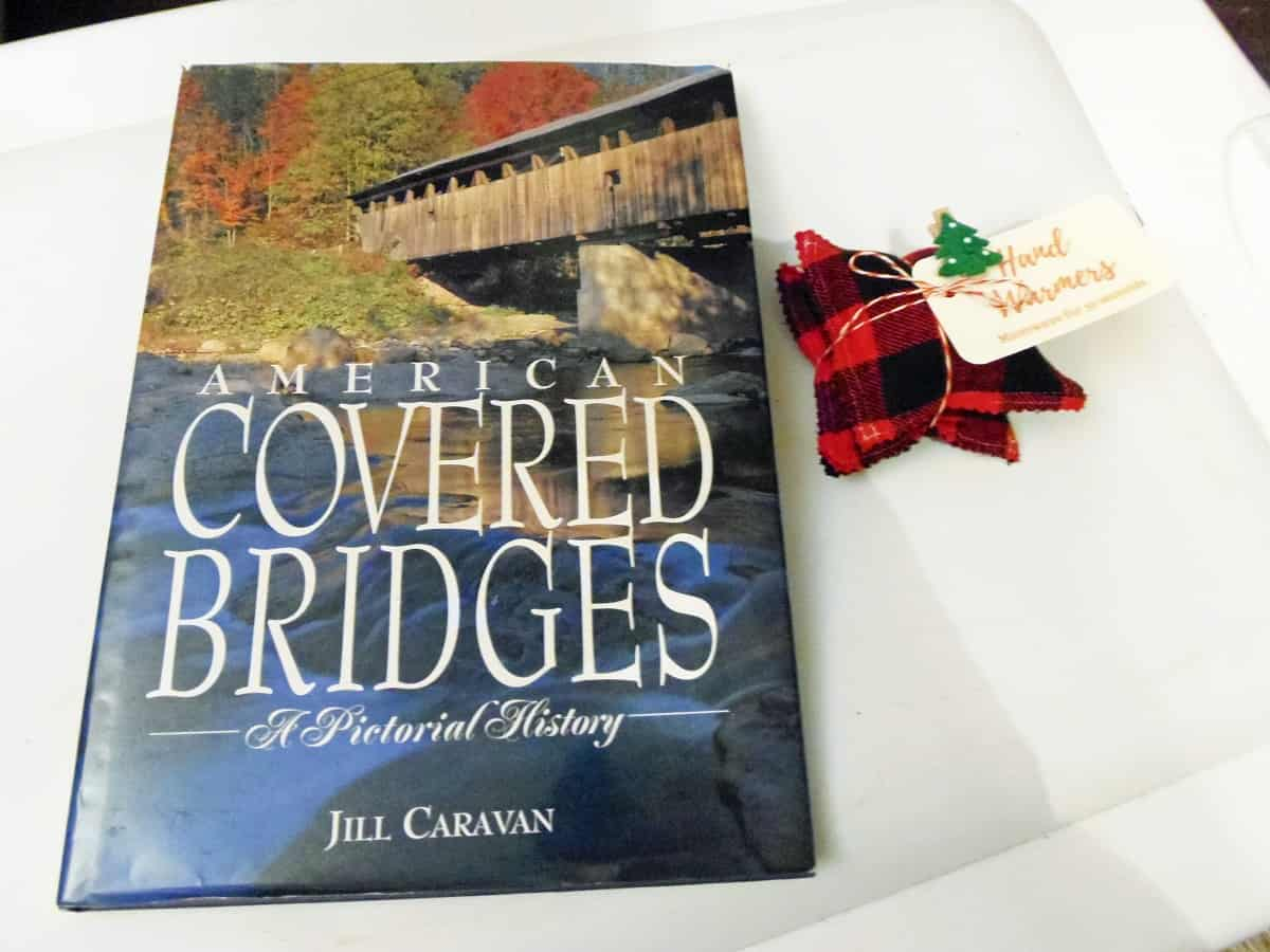 Covered Bridges Book and Hand Warmers