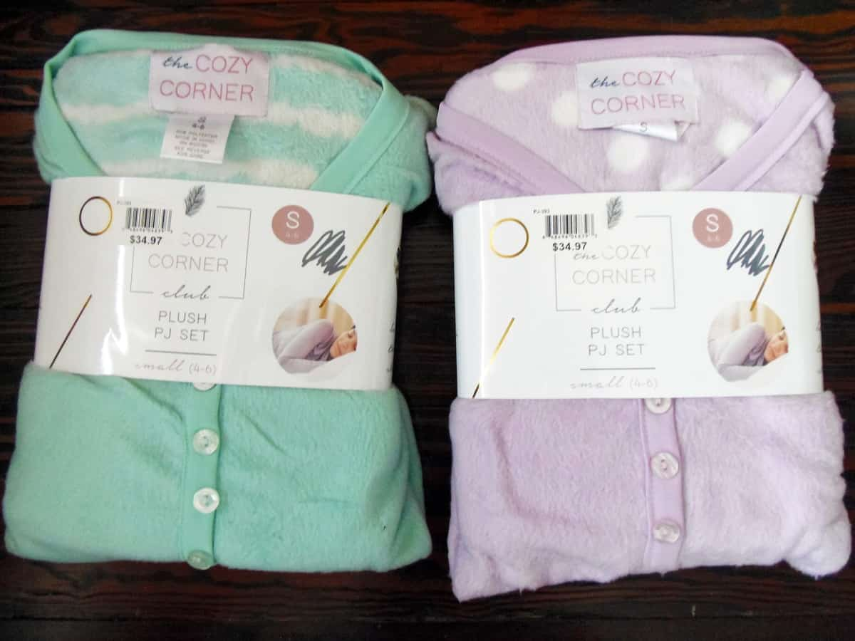 Fleece Pajama Sets