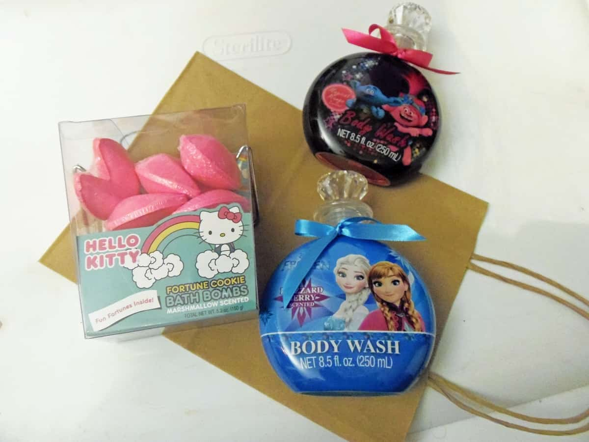 Kid's Body Wash and Bath Bombs
