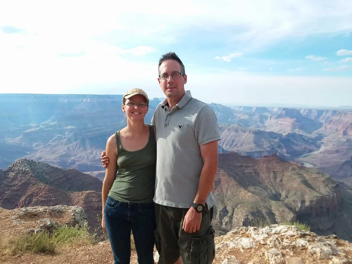 Aaron and Erin at Grand Canyon