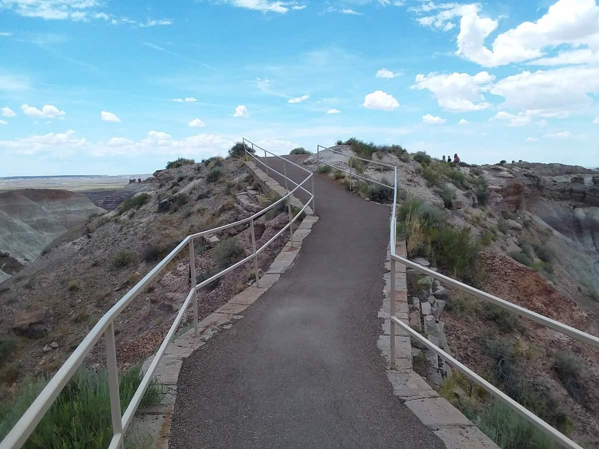Another Hiking Trail in Petrified Forest