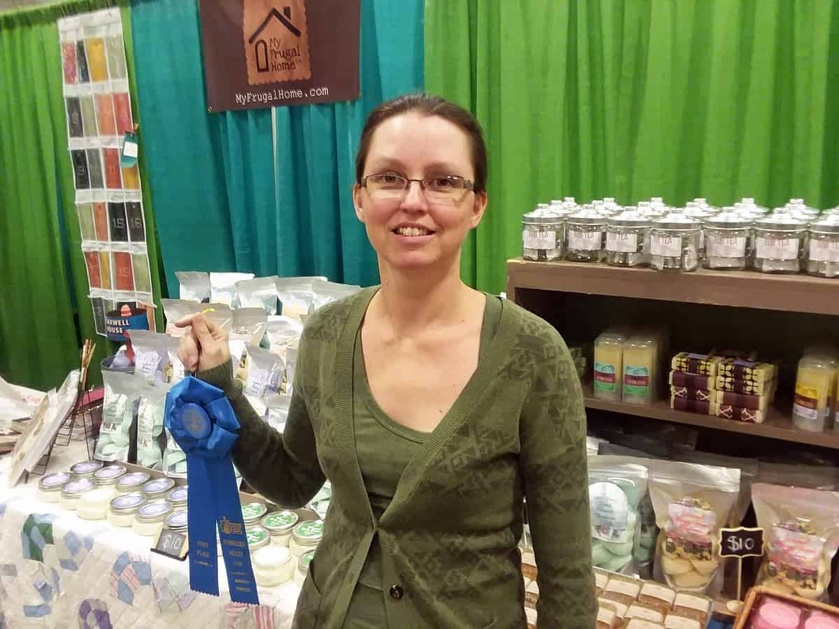 Blue Ribbon for Best Booth Display