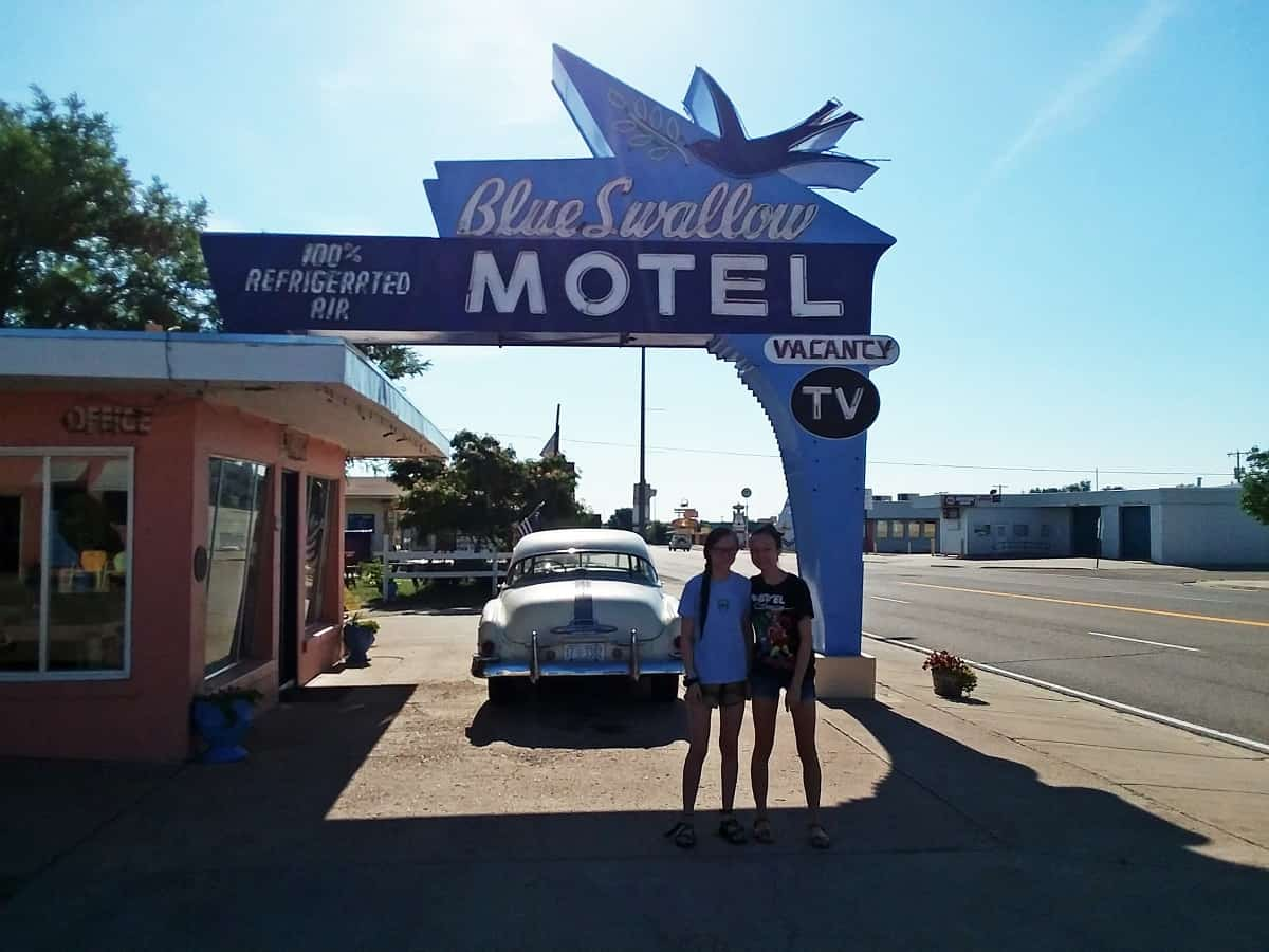 Blue Swallow Motel Tucumari, NM