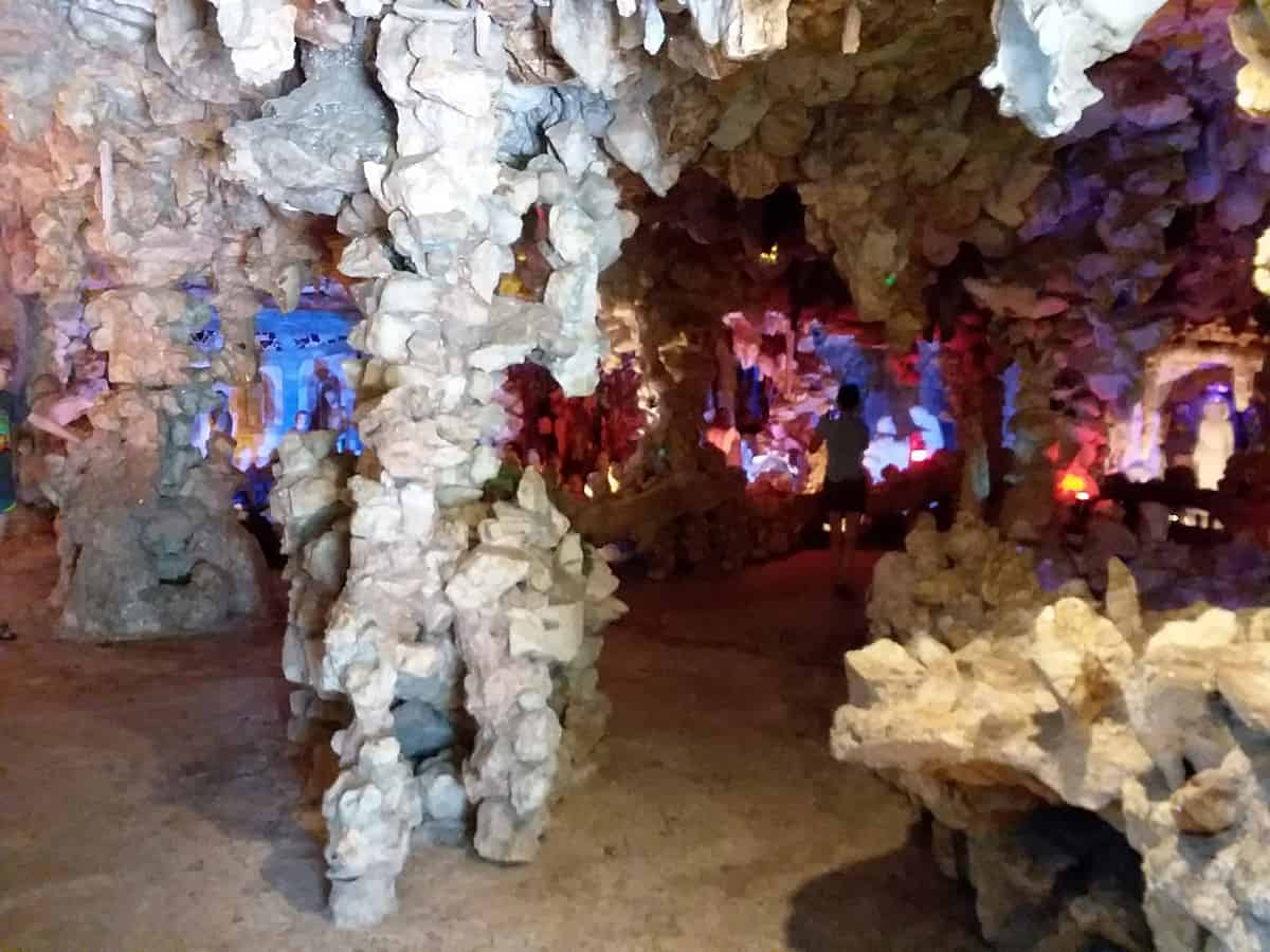 Crystal Formations in Crystal Shrine Grotto