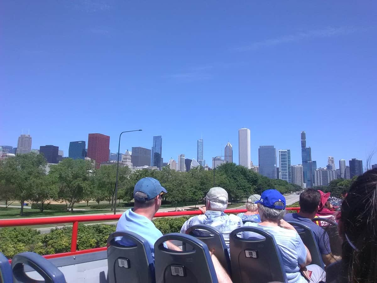 Double Decker Bus Tour of Chicago