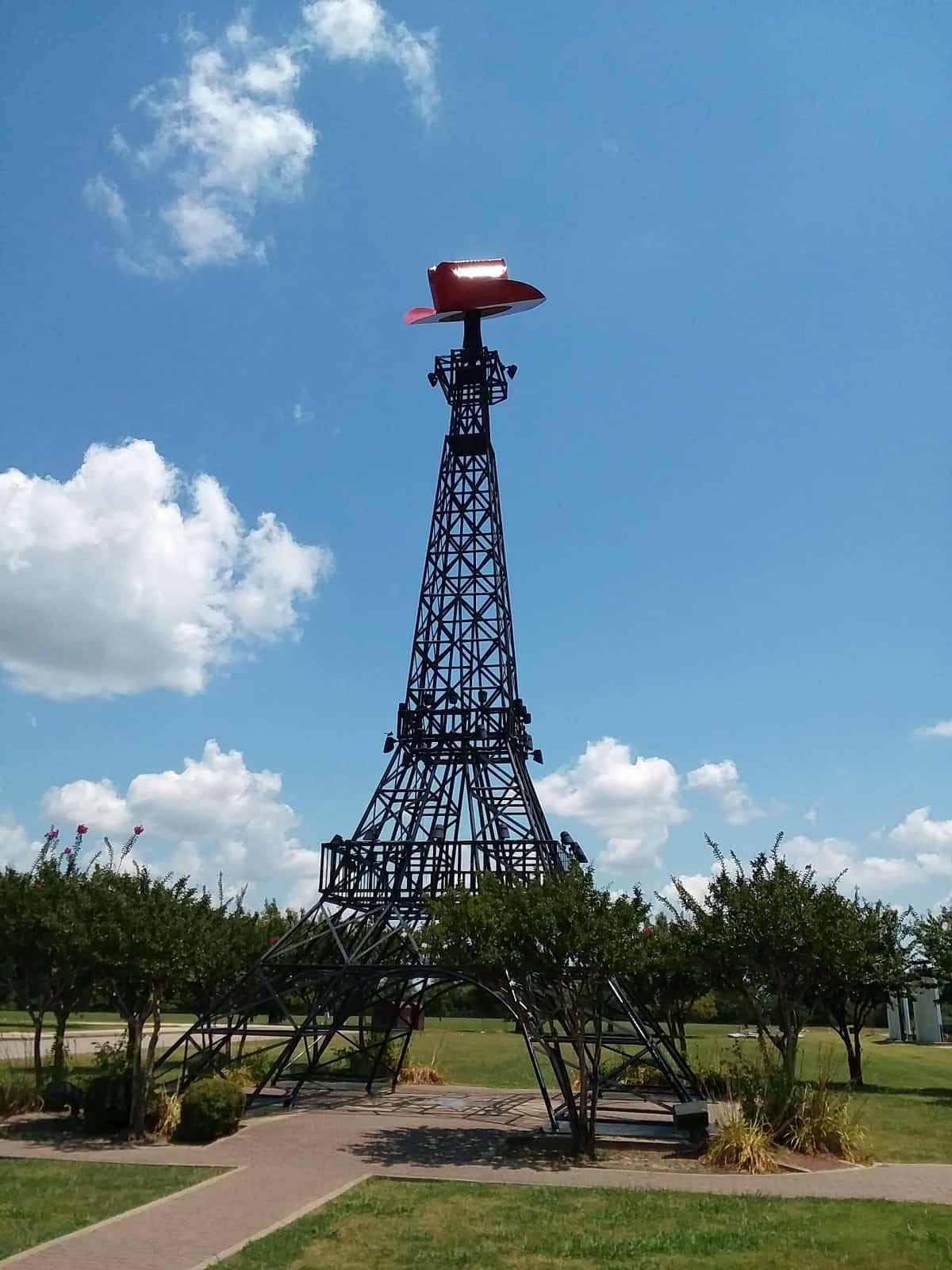 Eiffel Tower in Paris, Texas