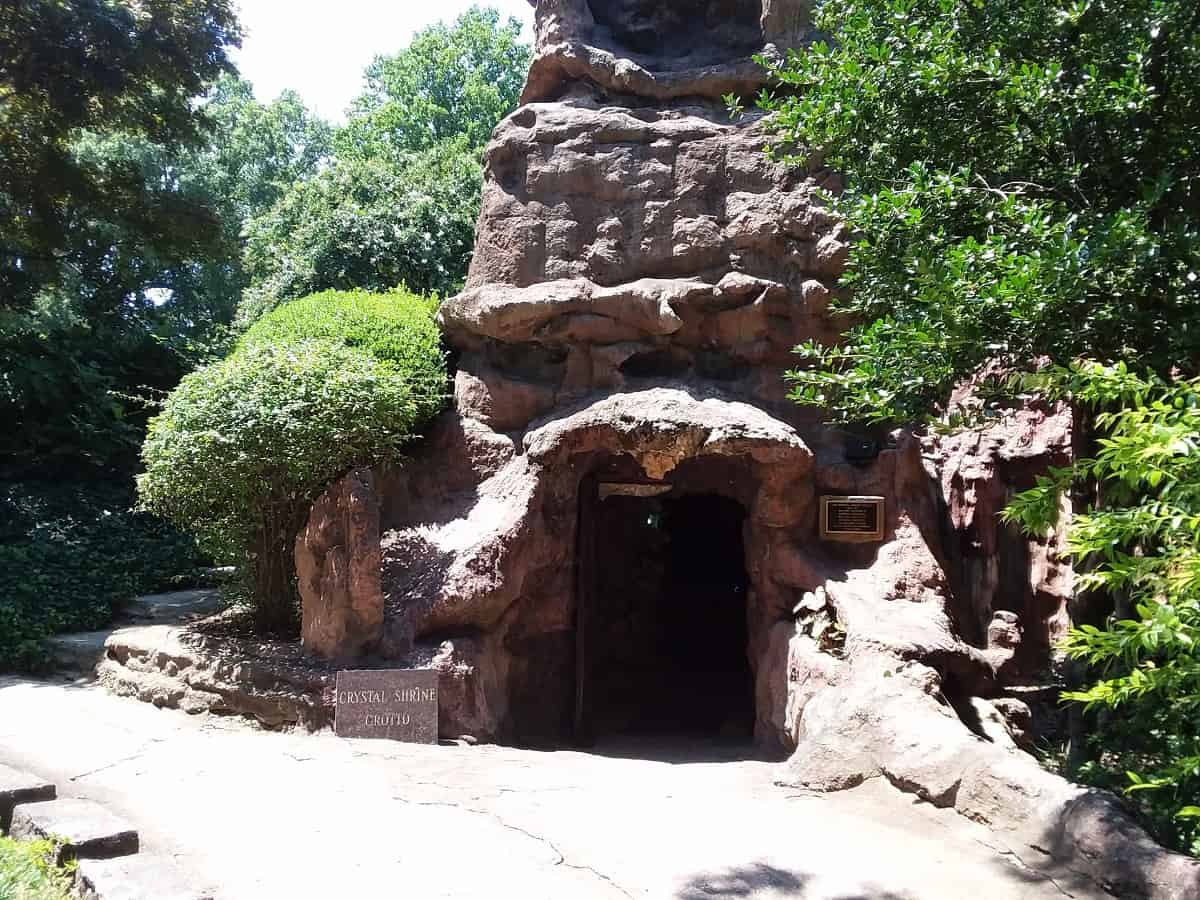 Entrance to Crystal Shrine Grotto
