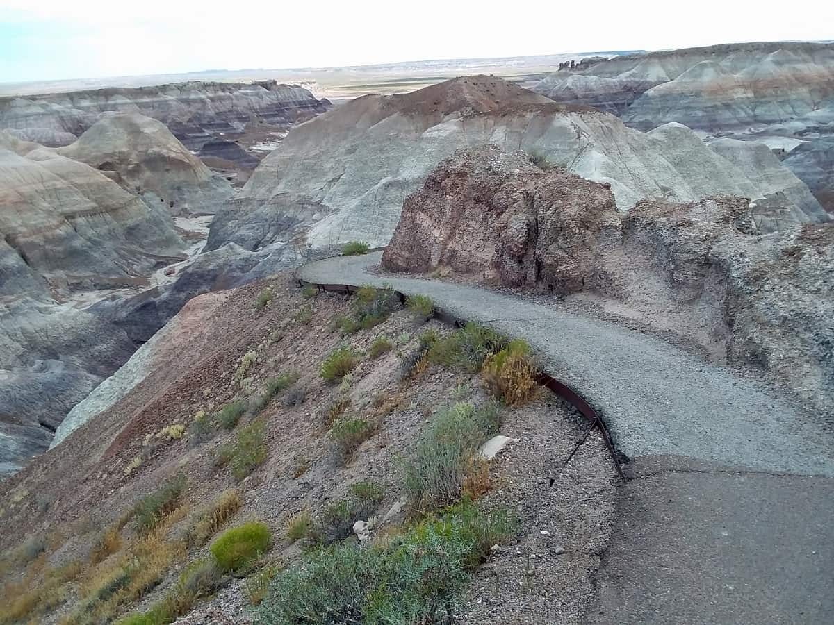 Hiking Trail in Petrified Forest