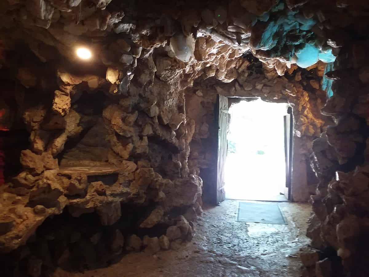 Inside of Door to Crystal Shrine Grotto