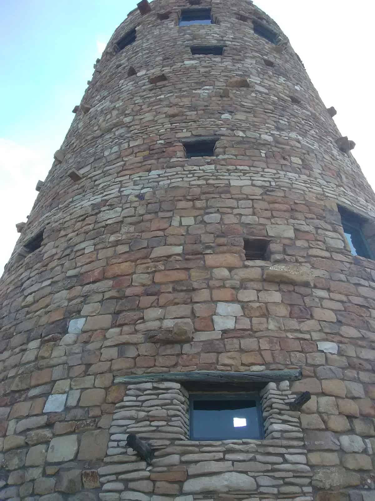 Closeup of Watchtower