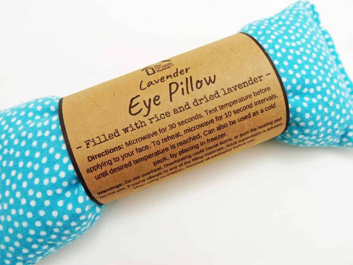 Lavender Eye Pillow From My Frugal Home Shop