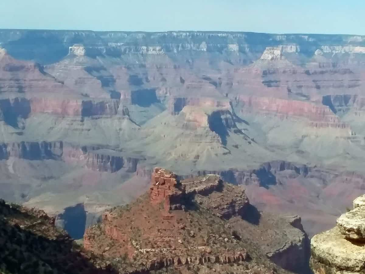 Looking into Grand Canyon
