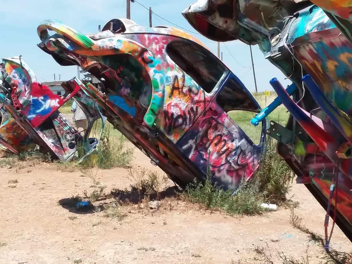 Row of Cars at Slug Bug Ranch