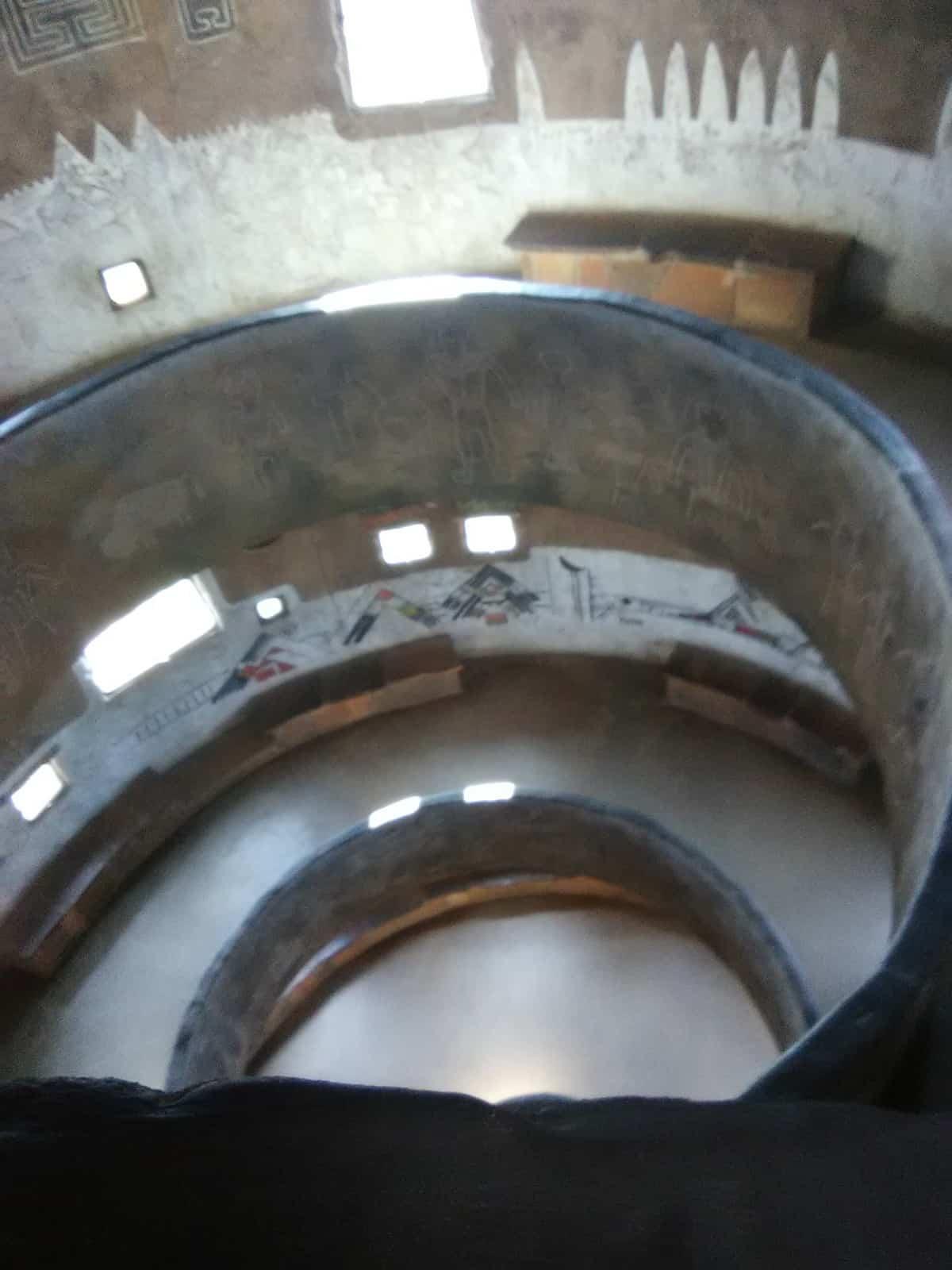 Inside of Desert View Watchtower