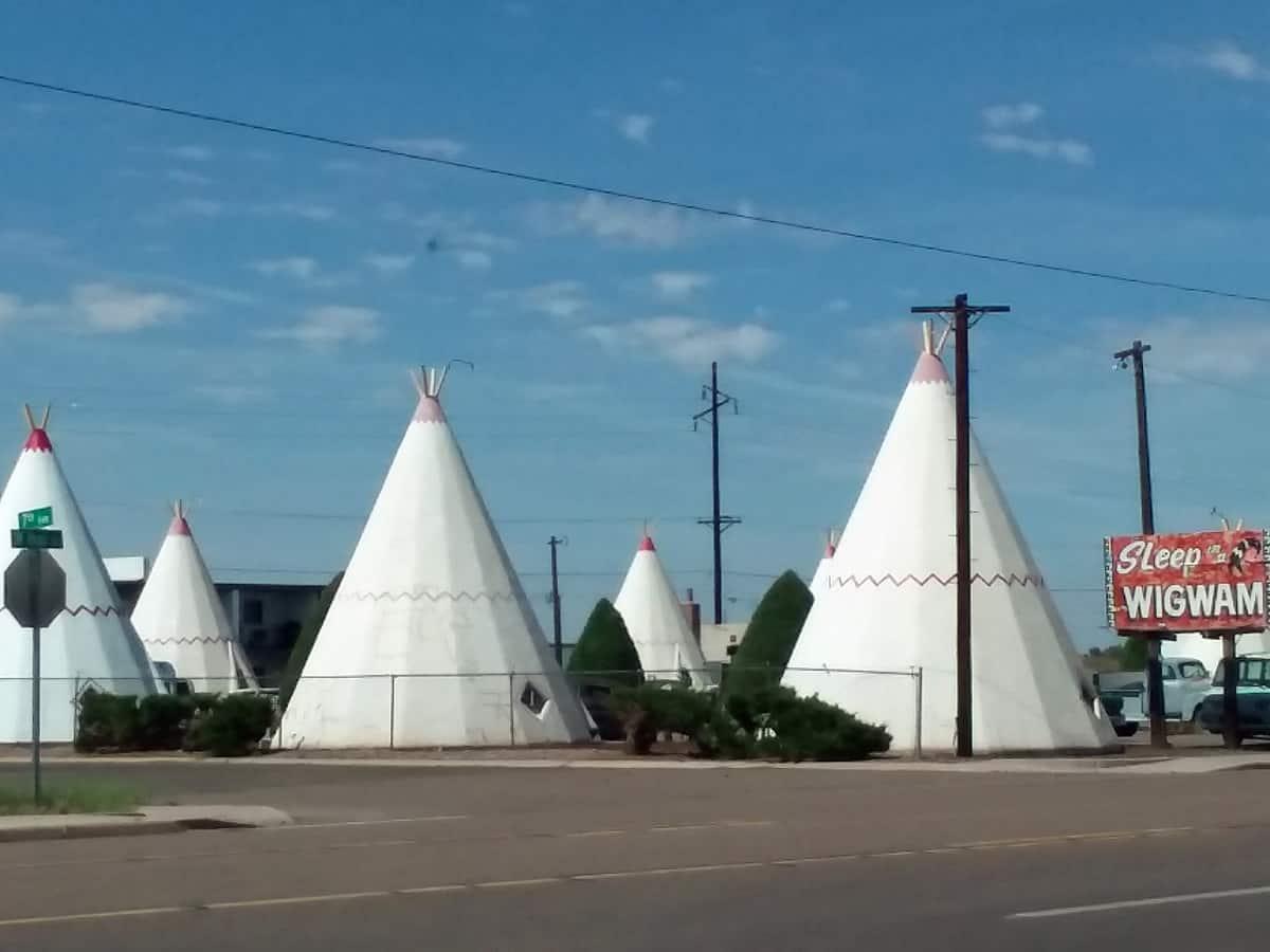 Wigwam Village in Holbrook, AZ