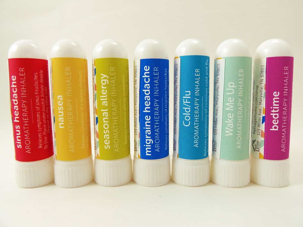 My Frugal Home Aromatherapy Inhalers