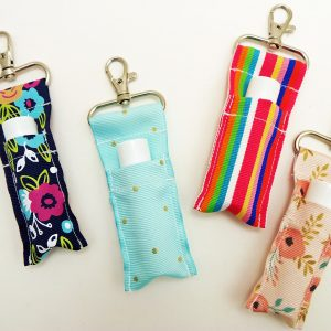 How to Make a Keychain Lip Balm Holder