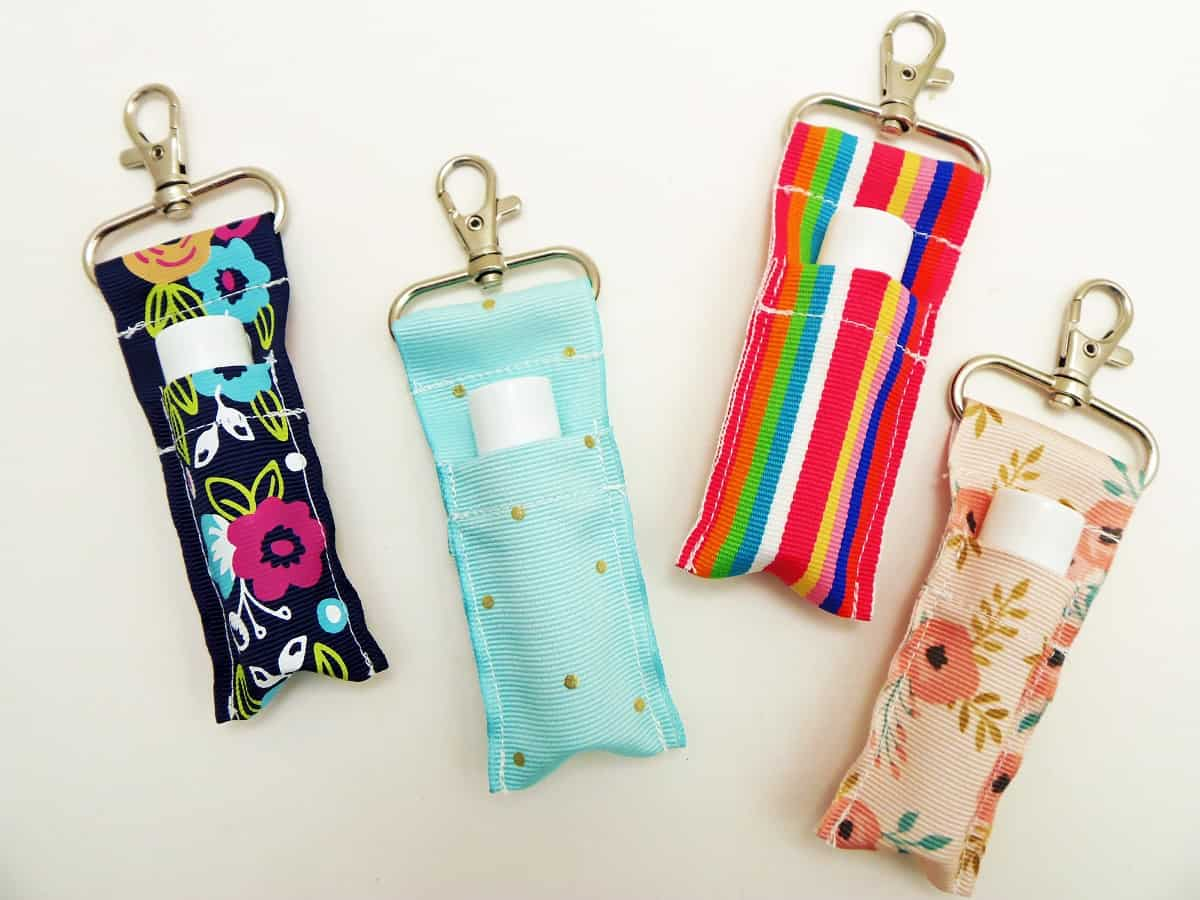Keychain Lip Balm Holders