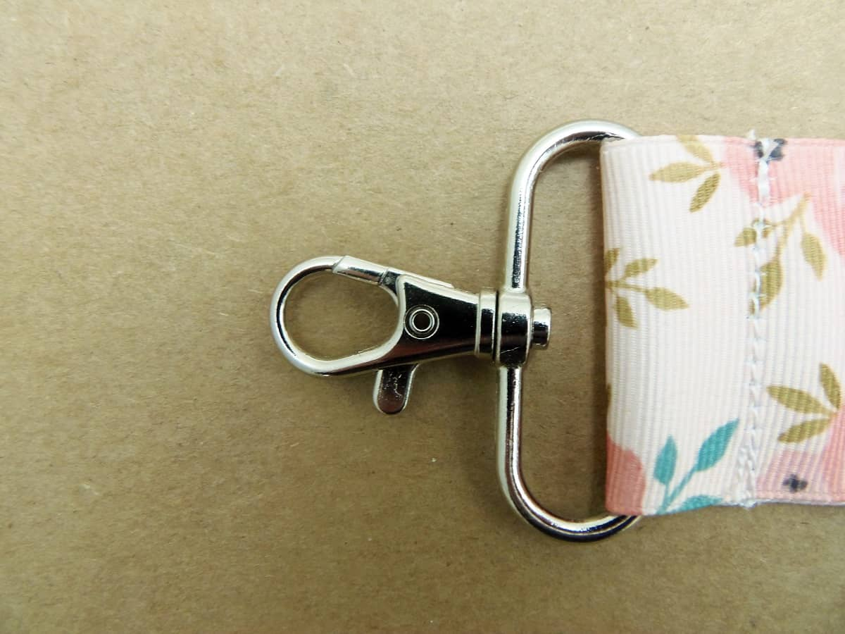 Sew Across the Top of the Lip Balm Holder