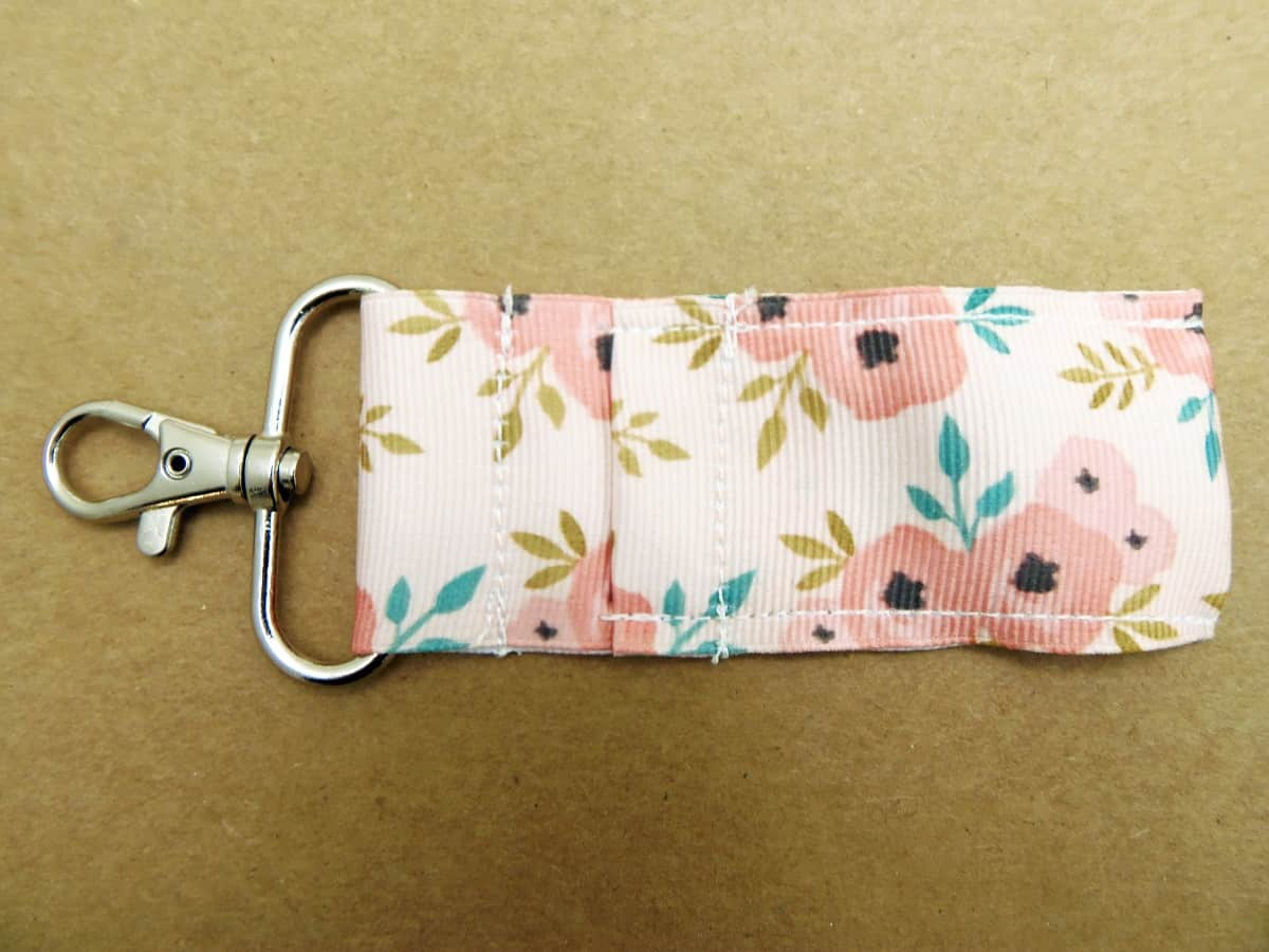 Sew Down the Sides of the Lip Balm Holder