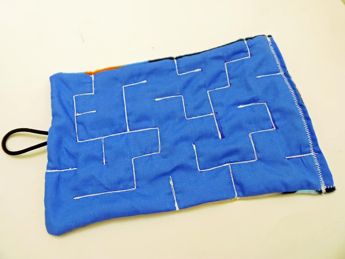 Advanced Fabric Marble Maze Design