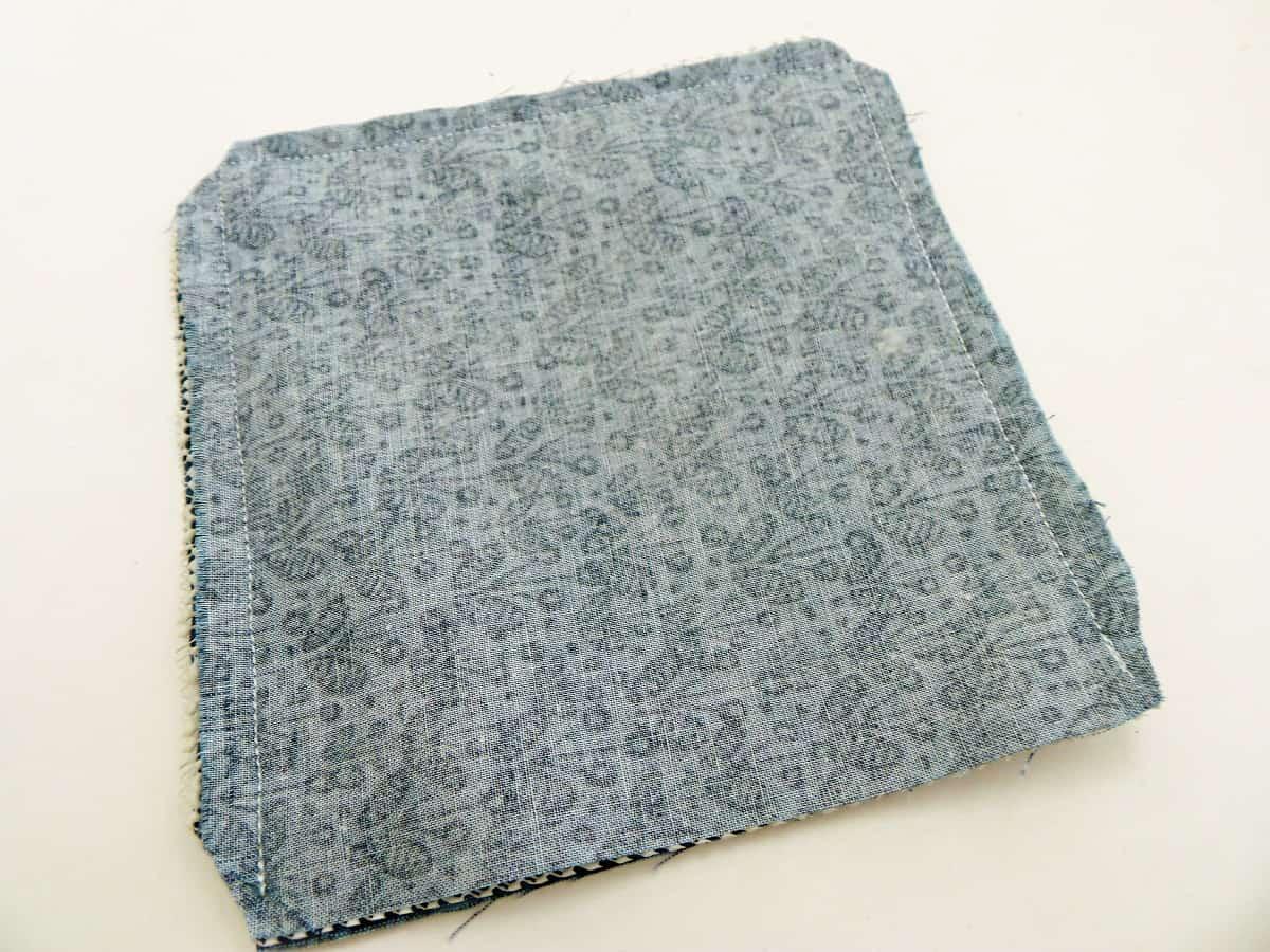 Sew a Quarter-Inch Seam Around Three Sides