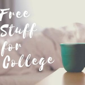 Free Stuff for College Challenge