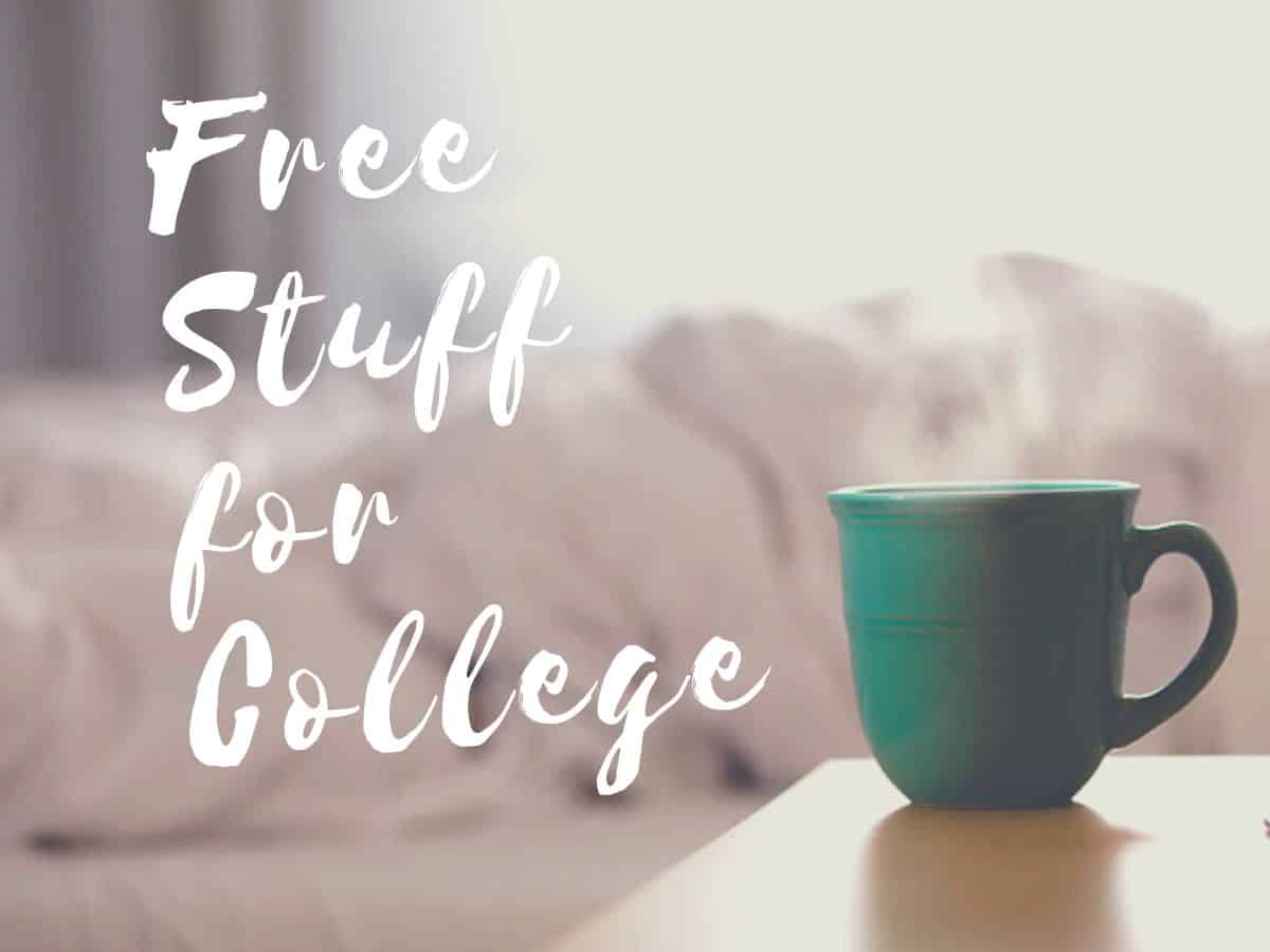 Free Stuff for College