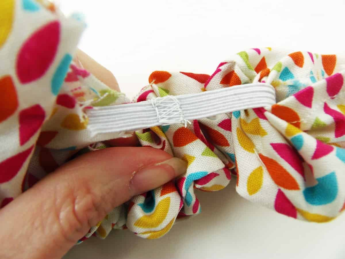 Sew The Elastic Ends Together