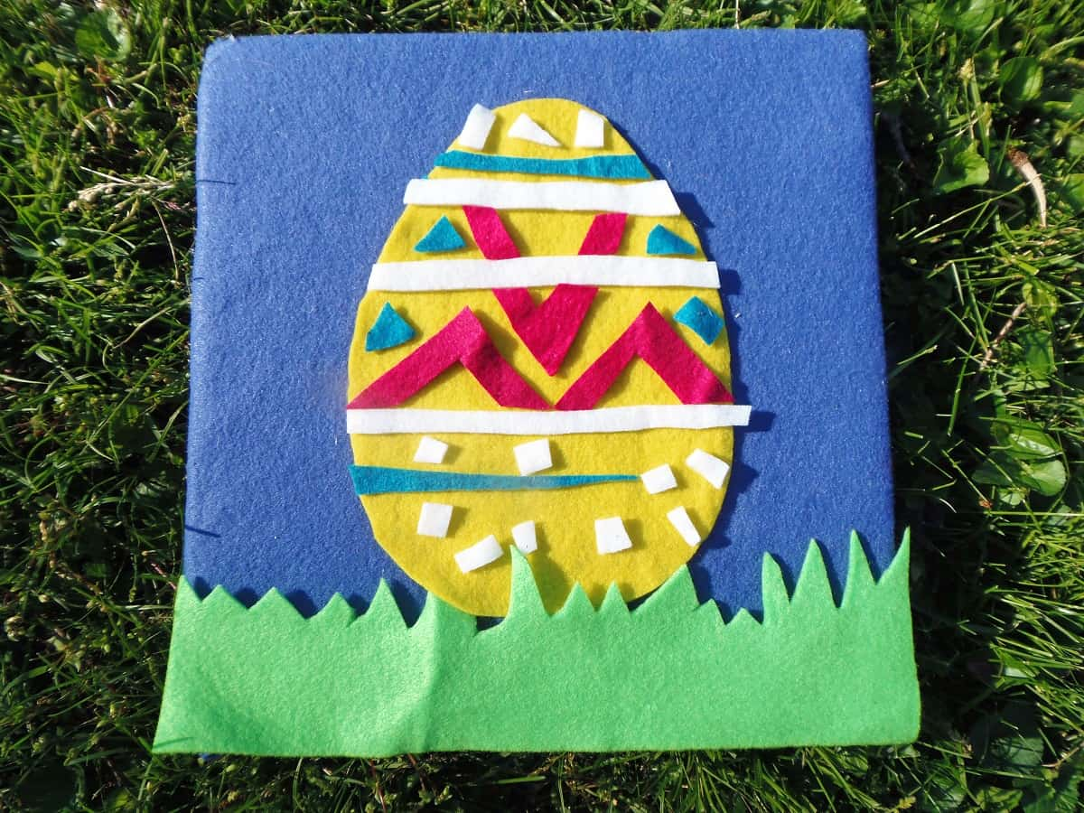 Easter Egg Felt Board