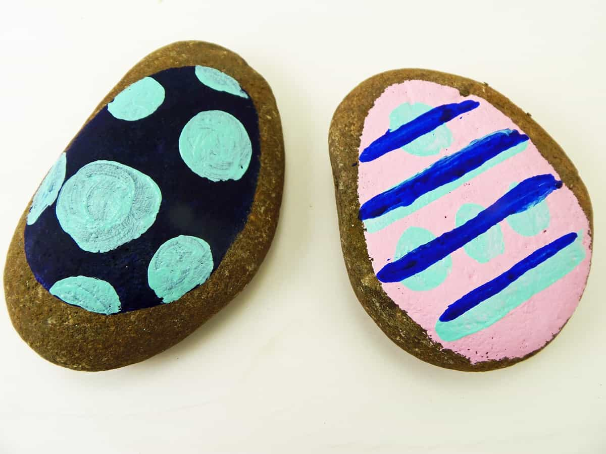 Easter Egg Painted Rocks