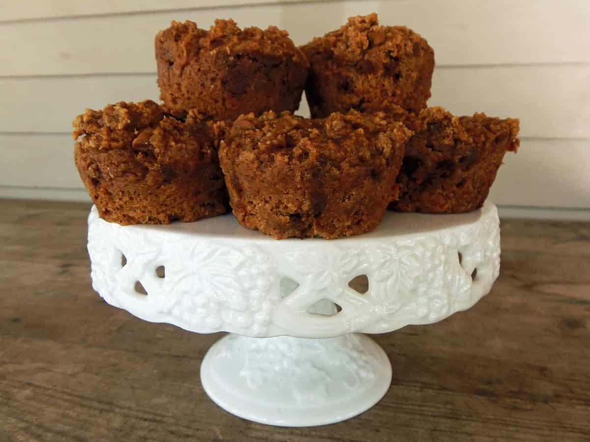 Three-Ingredient Pumpkin Muffins