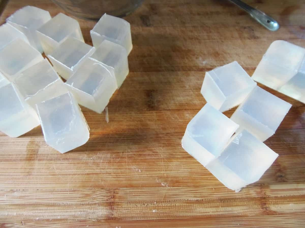 Cubed Glycerin Soap