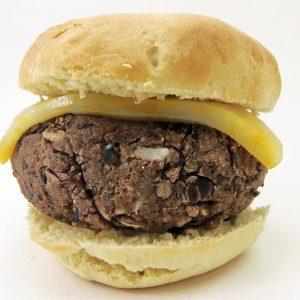 Homemade Black Bean Burger