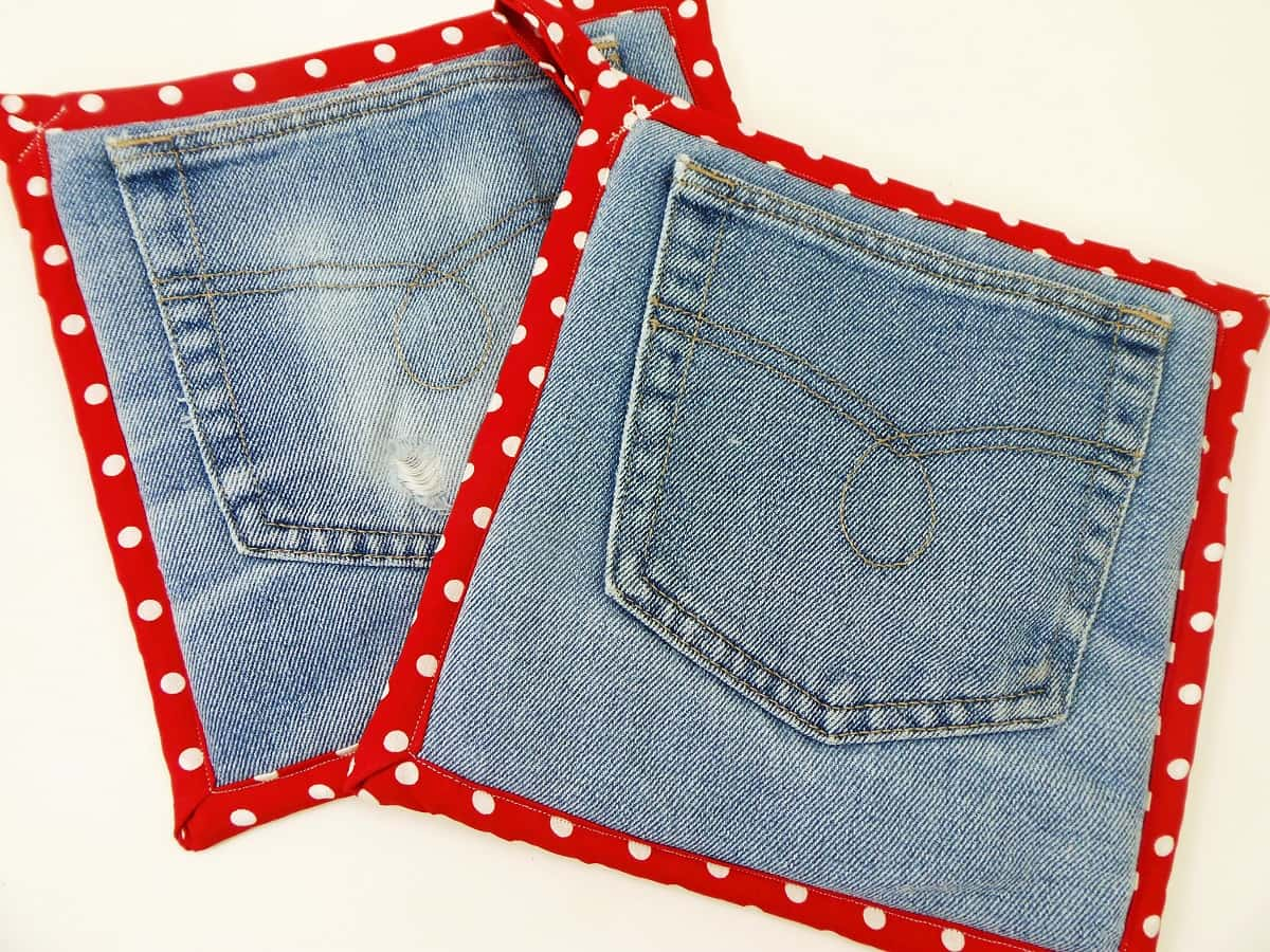 How to Make a Jean Pocket Potholder