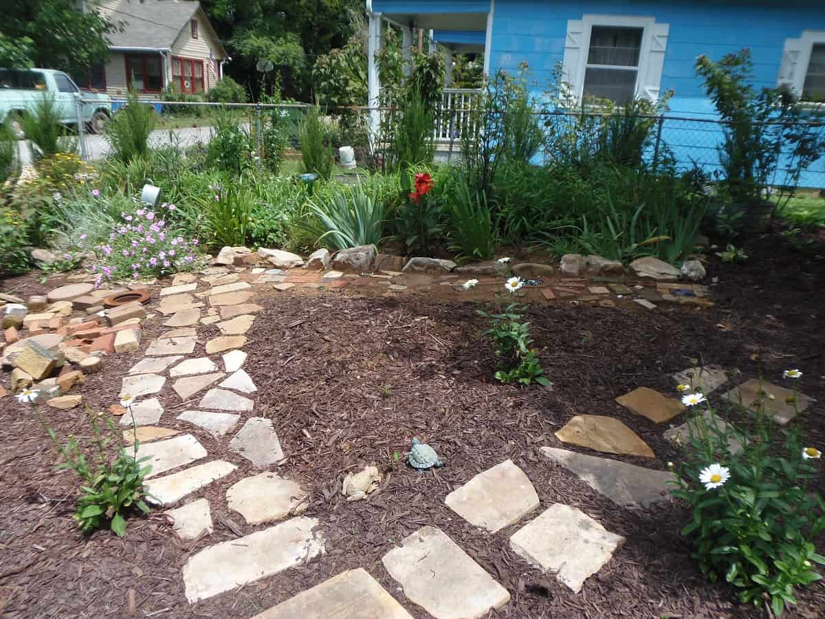 New Flagstone Path