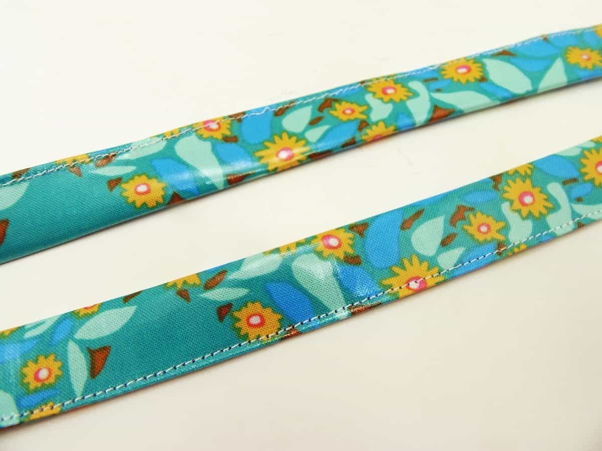 Finished Ties for Lunchbox Silverware Placemat Roll