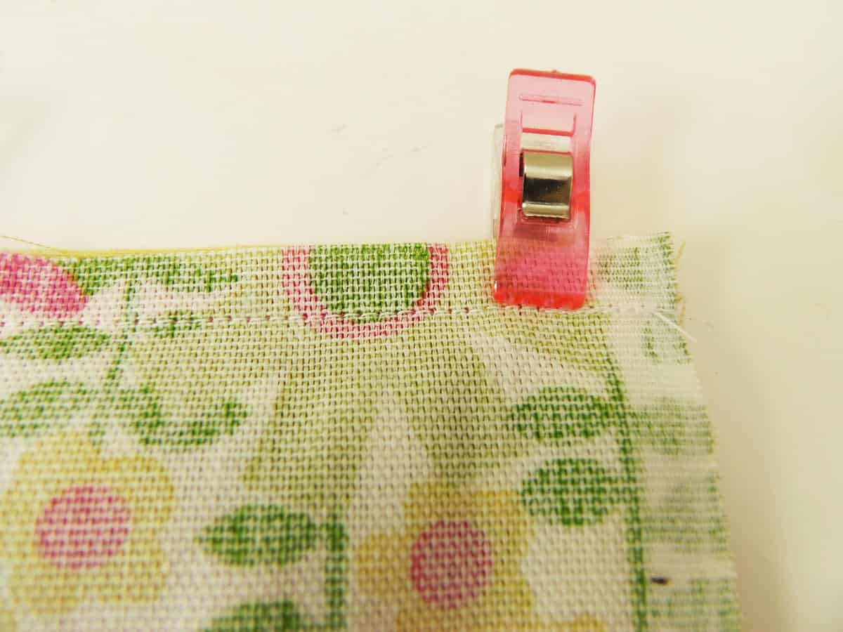 Flip and Sew Over the Existing Seam