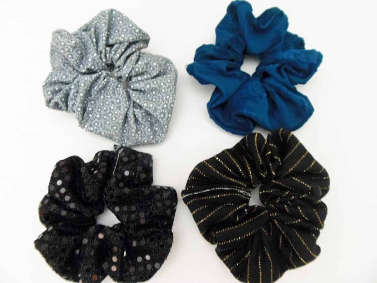 Four Scrunchies