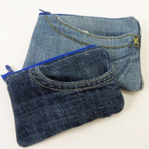 How to Make a Jean Pocket Coin Purse