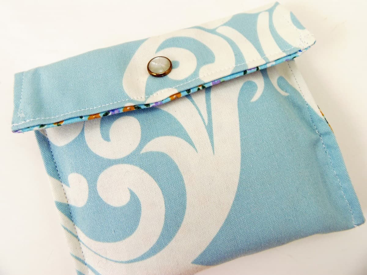 How to Sew a Maxi Pad Pouch
